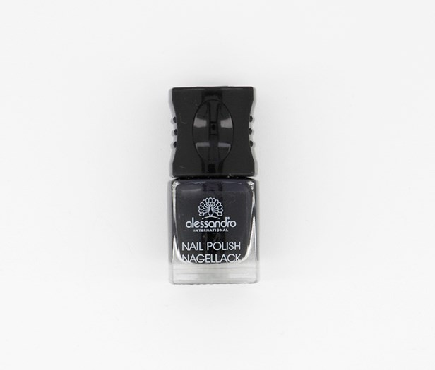 Nail Polish Nagellack No.384 10 ml, Black