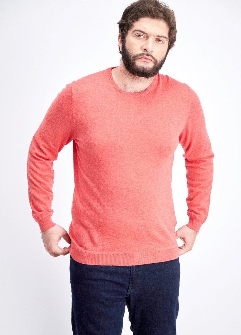 Men's Knit Sweater, Strick Red