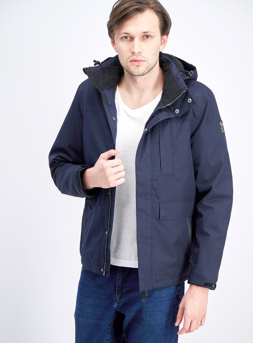 Men's Functional Jannick Zip Off Hood, Navy