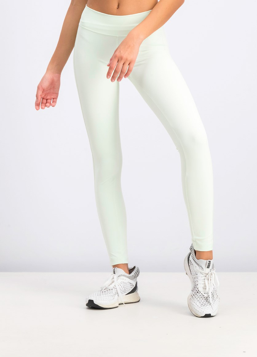 Women's Climachill Tights, Mint Green