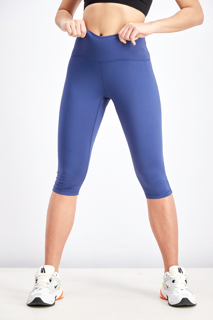 Women's High-Rise Soft Capri Leggings, Blue
