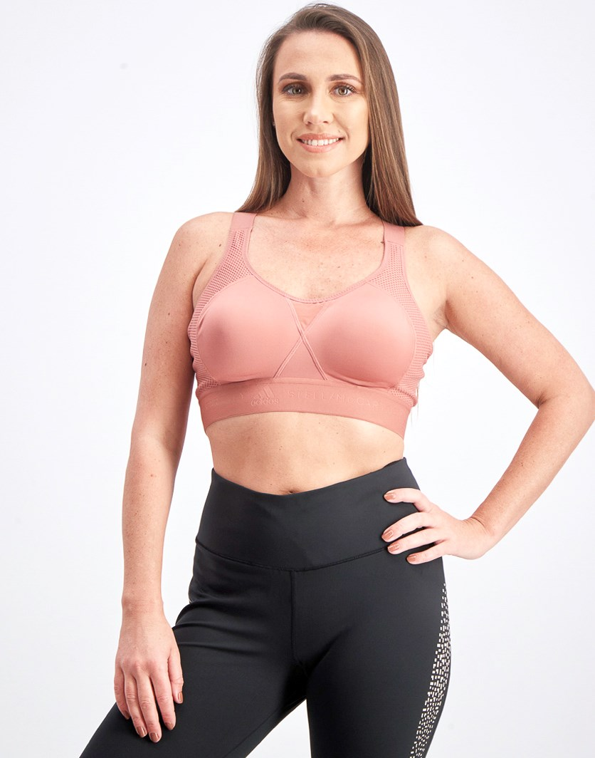 Women's Clima Cool Sports Bra, Old Rose
