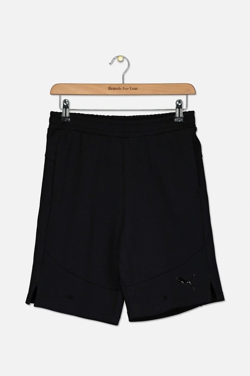 Boys Evostripe Shorts, Black