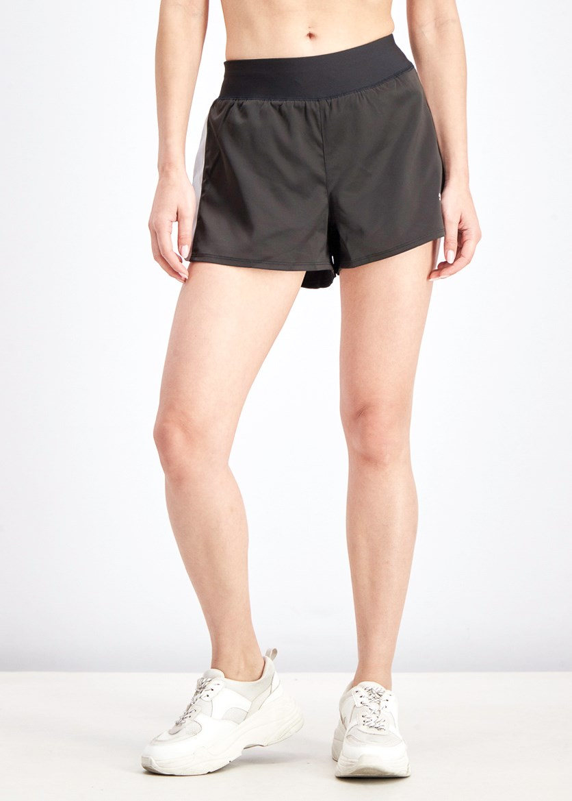Women's Blast 3 Dry Cell Shorts, Black/Silver