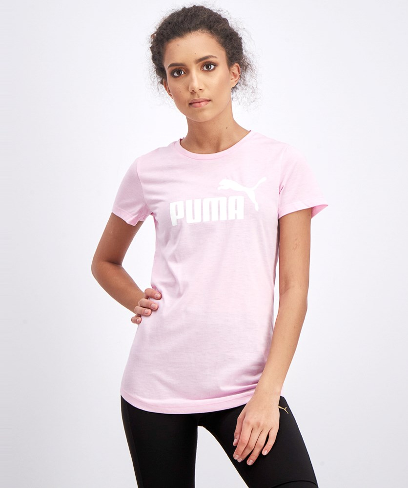 Women's Essentials Heather T-Shirt, Pale Pink