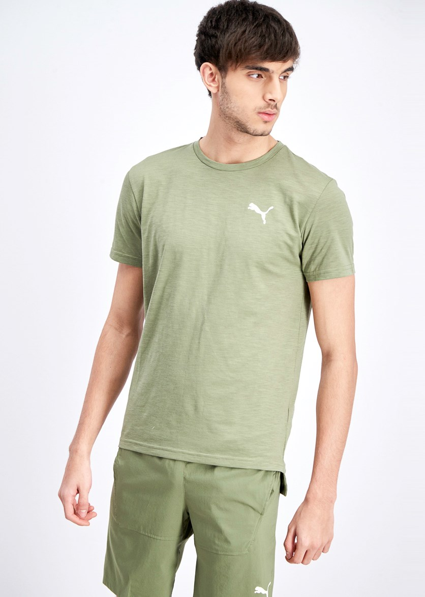 Men's Energy Short Sleeve Tee, Olive Heather