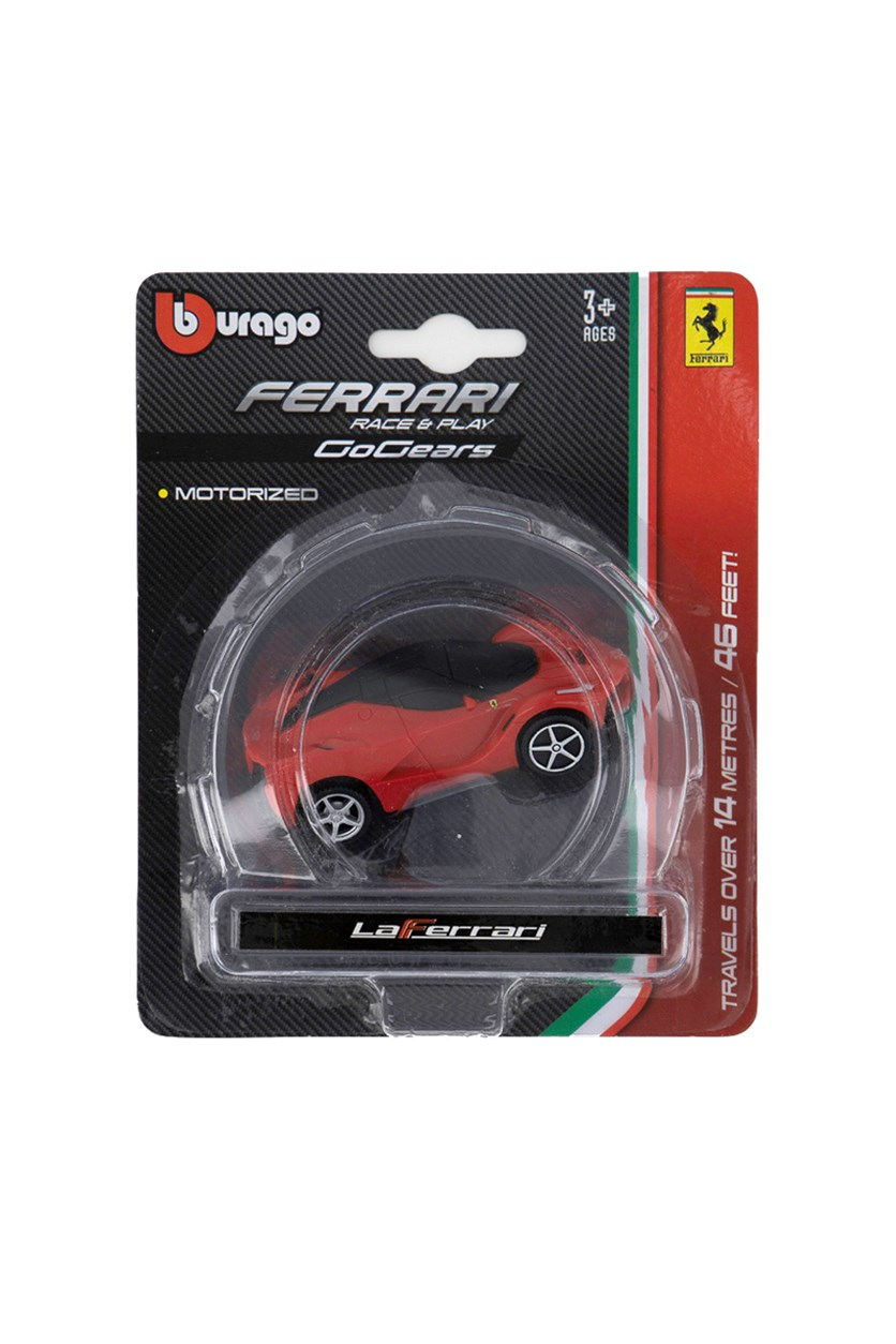Ferrari Race & Play Go Gears Vehicles, Red/Black