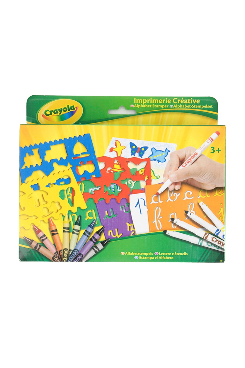 Crayola Alphabet Stamper, Yellow/Green