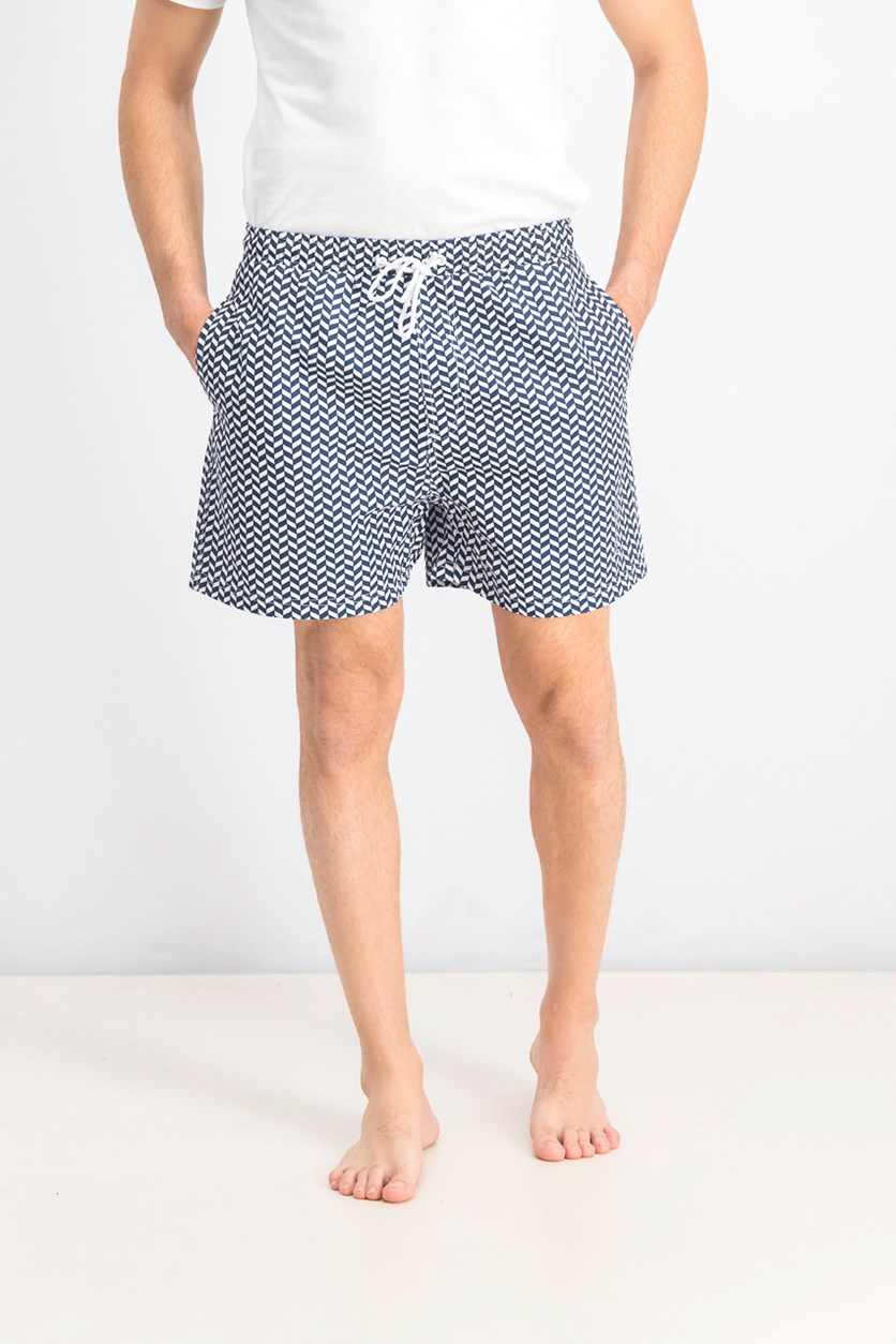 Men's Hummels Drawstring Swimwear Short, Navy
