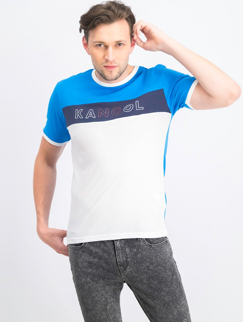 Men's Fitton Short Sleeve T-Shirt, Blue Aster