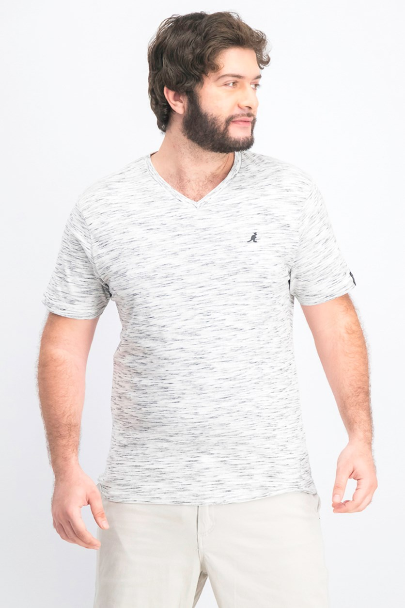 Men's Lucian V- Neck T-Shirt, Ash
