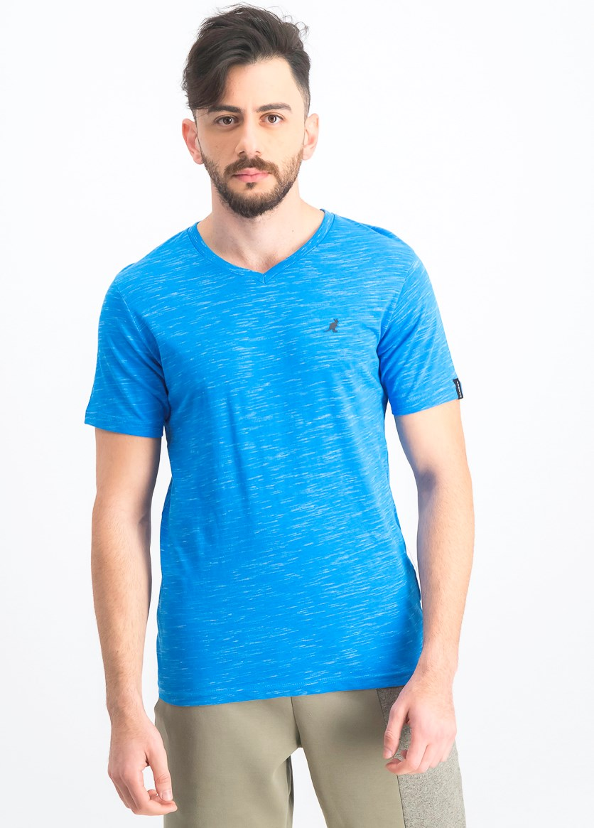 Men's Lucian V- Neck T-Shirt, Blue