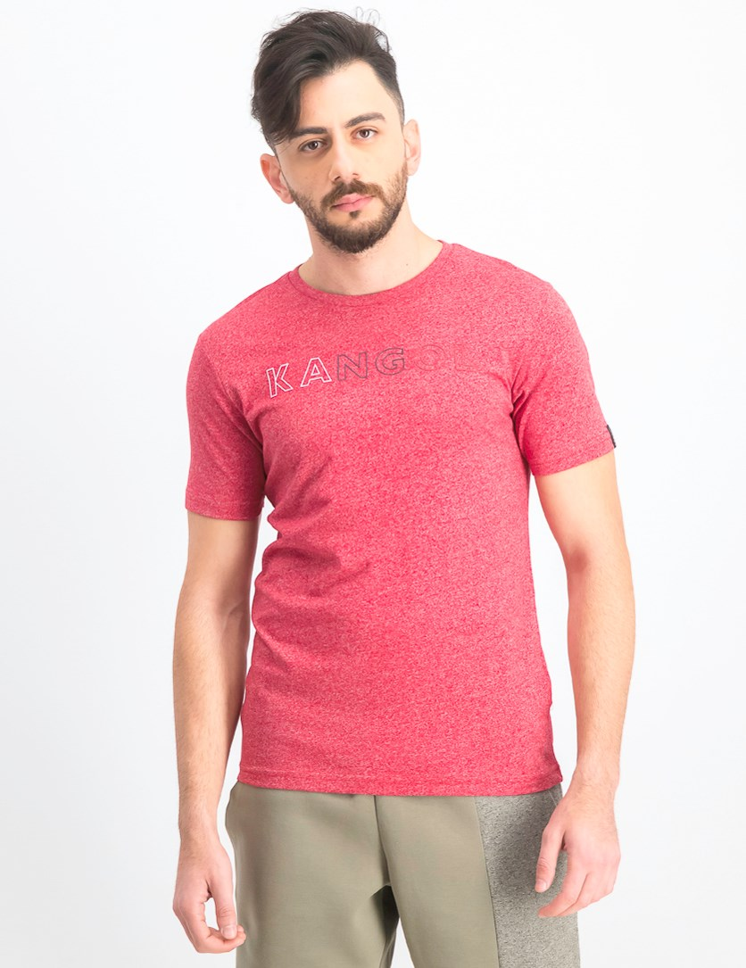 Men's Micro Short Sleeve T-Shirt, Red Marl