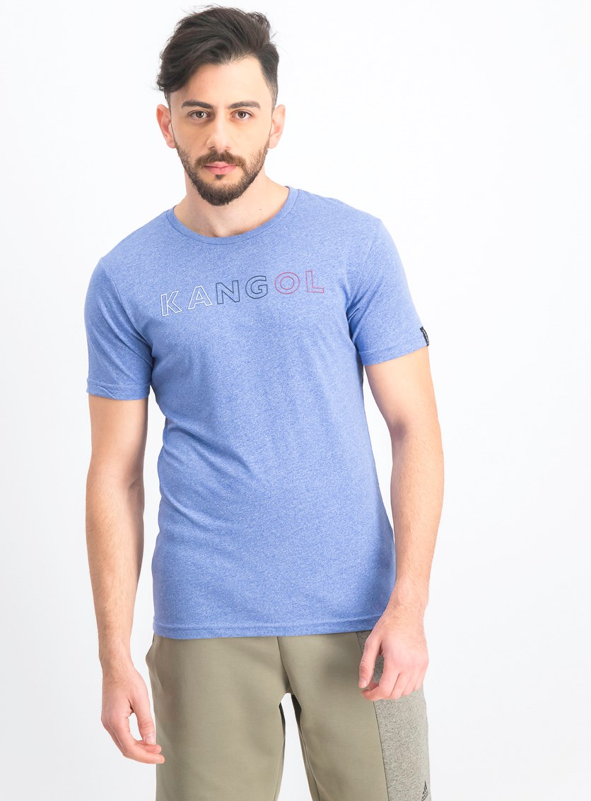 Men's Micro Short Sleeve T-Shirt, Blue Marl