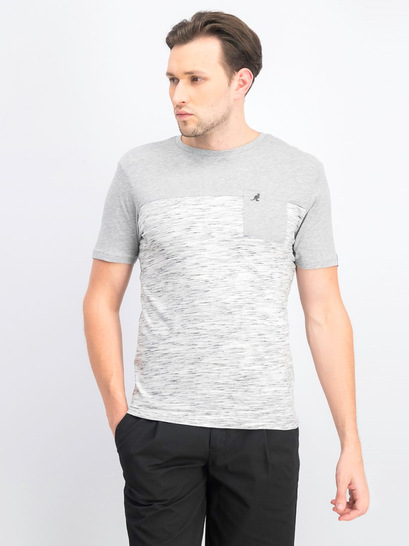 Men's Elbrus Short Sleeve T-Shirt, Gray Marl