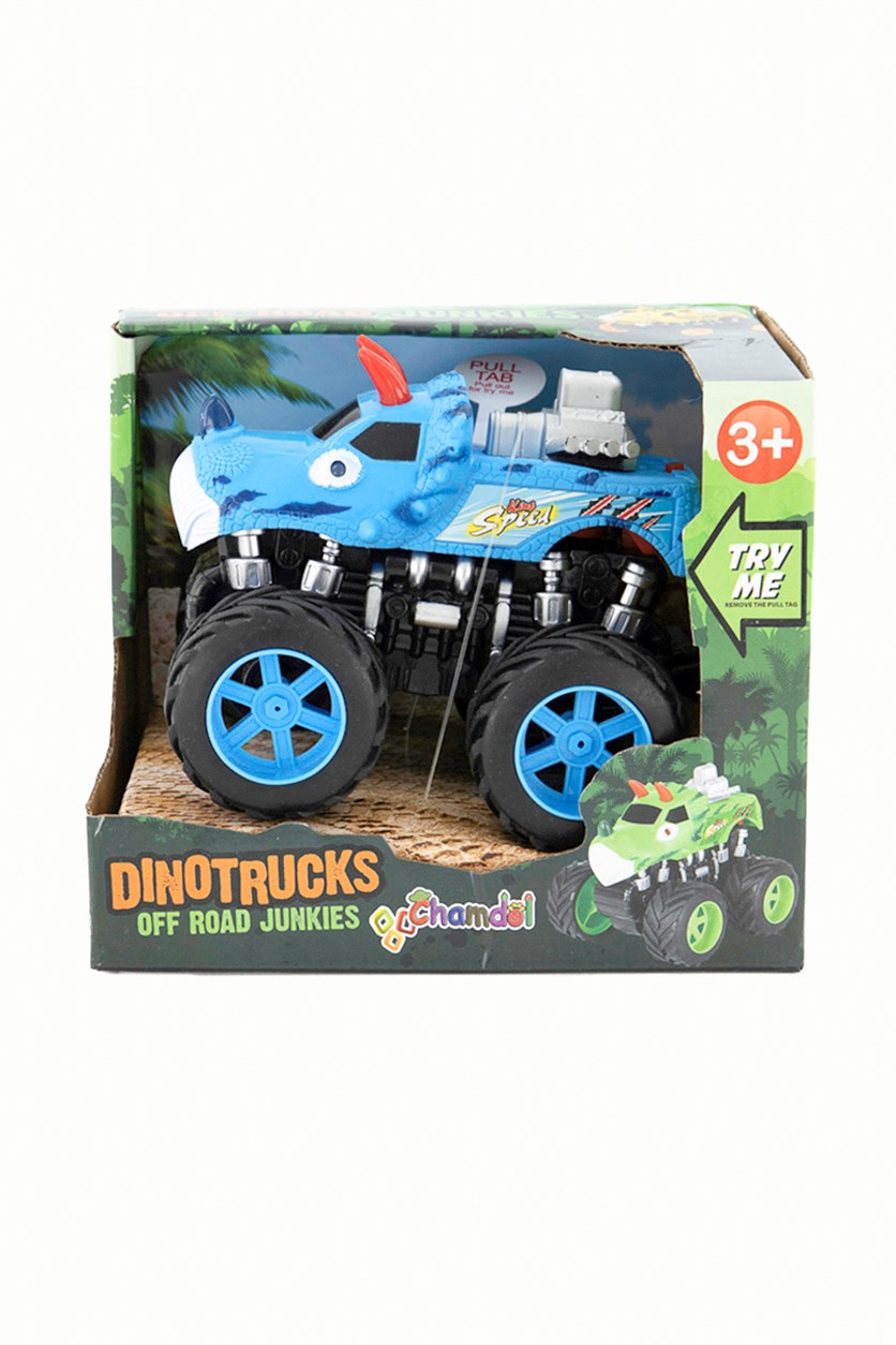 Off Road Junkies Dino Trucks, Blue/Red