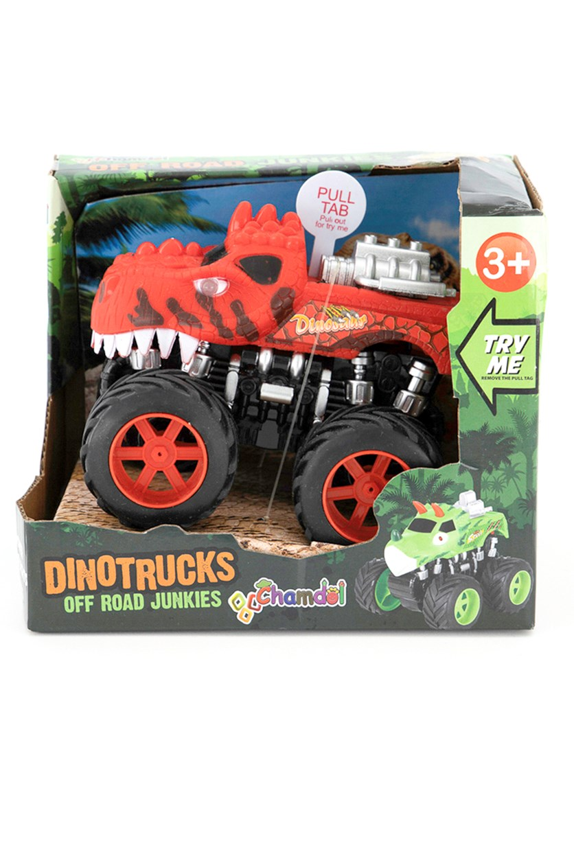 Off Road Junkies Dino Trucks, Red