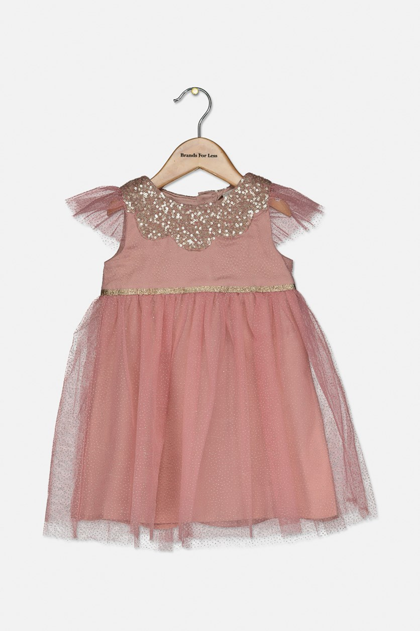 Toddlers Occasion Dress, Pink