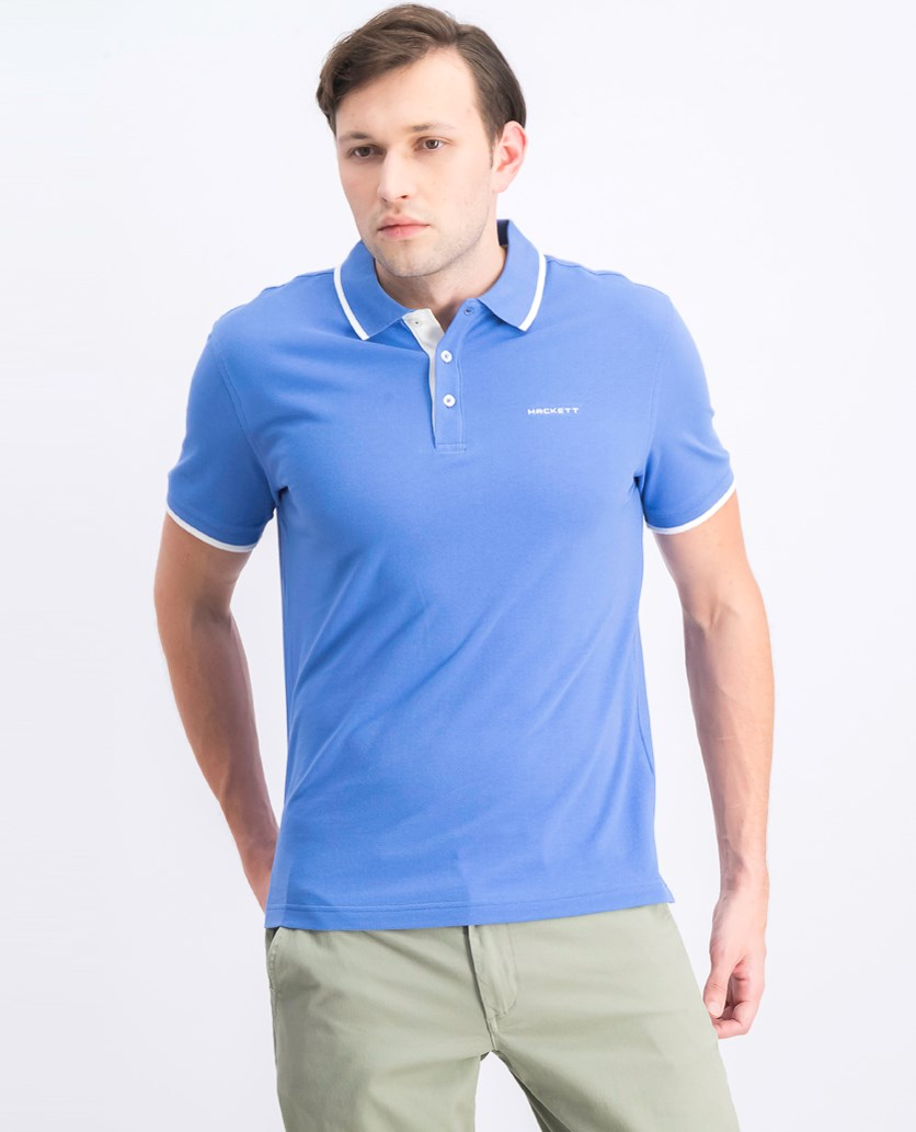 Men's Cotton Pique Polo Shirt, Yonder