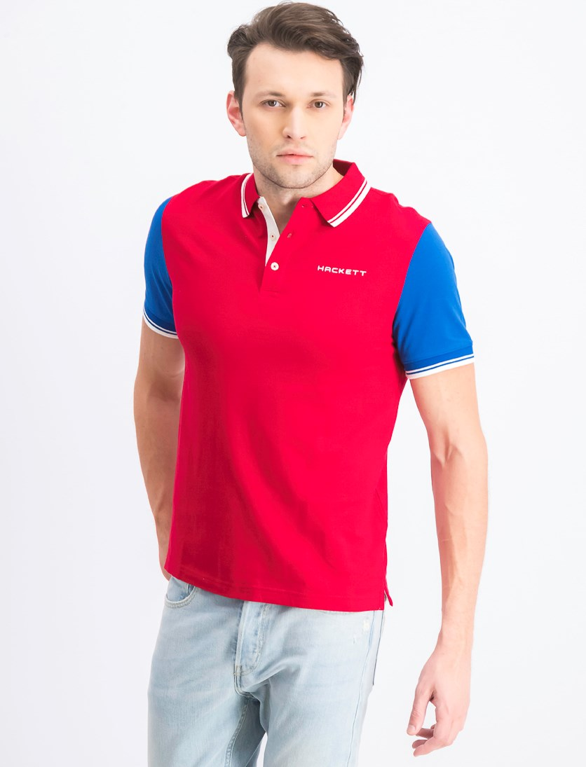 Men's Cotton Polo Shirt, Jester/Snorkel