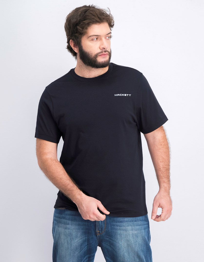 Men's Cotton T-Shirt, Black