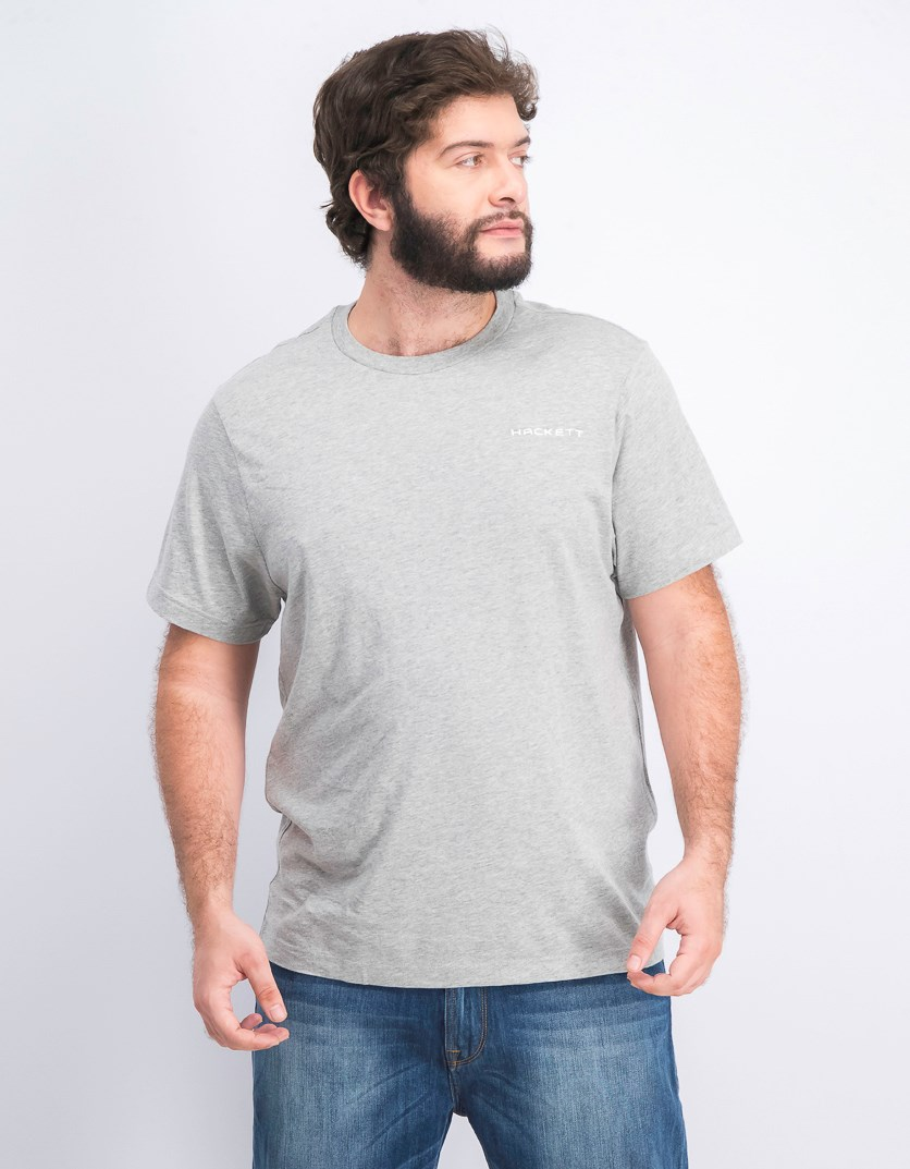 Men's Cotton T-Shirt, Metal Heather Grey