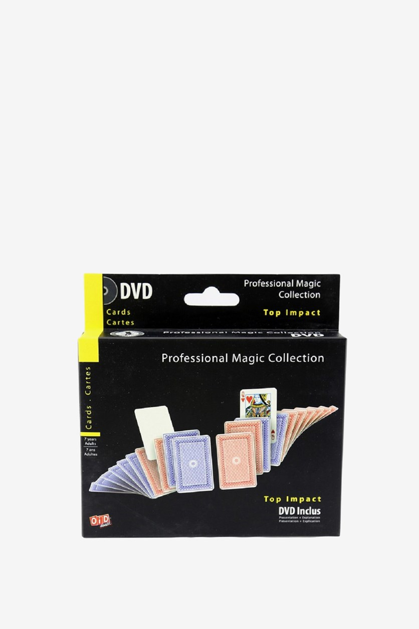 Top Impact Professional Magic Collection, Black/Yellow