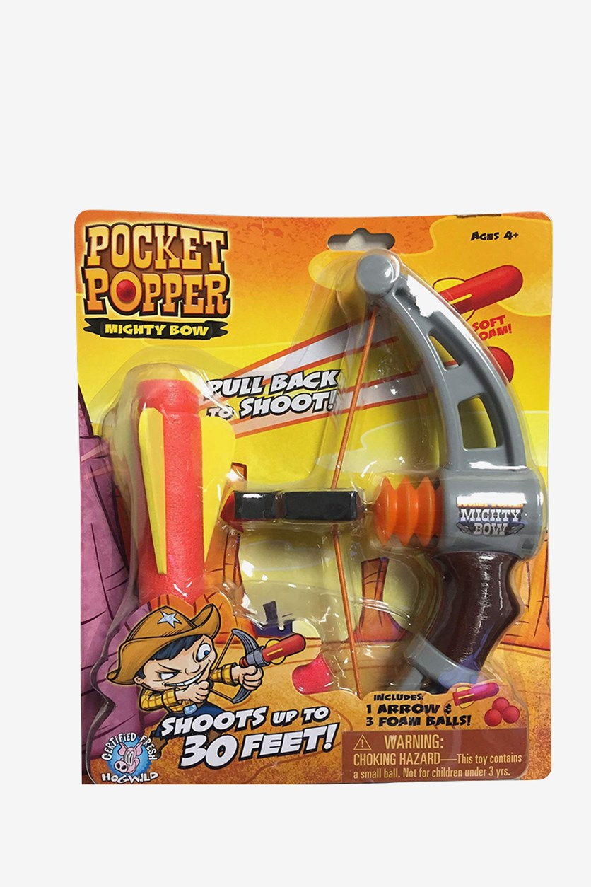 Pocket Popper Mighty Bow, Yellow