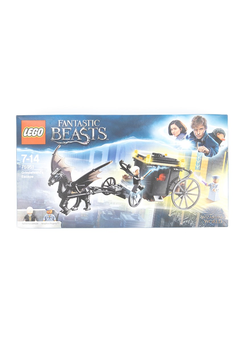 Fantastic Beasts  Grindelwald's Escape Set, Black