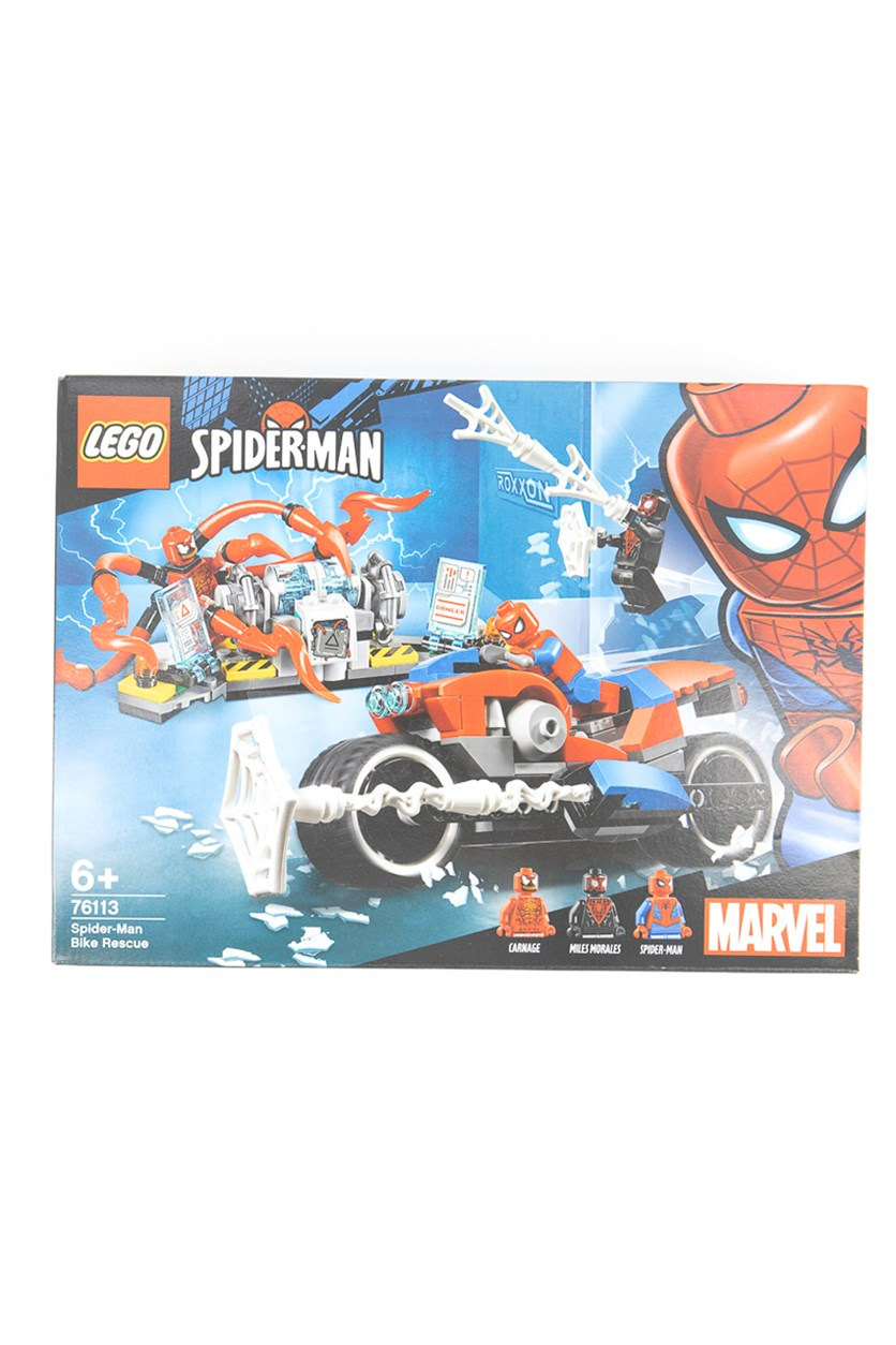 Marvel Super Heroes Spider-Man Motorradrettung, Red/Blue