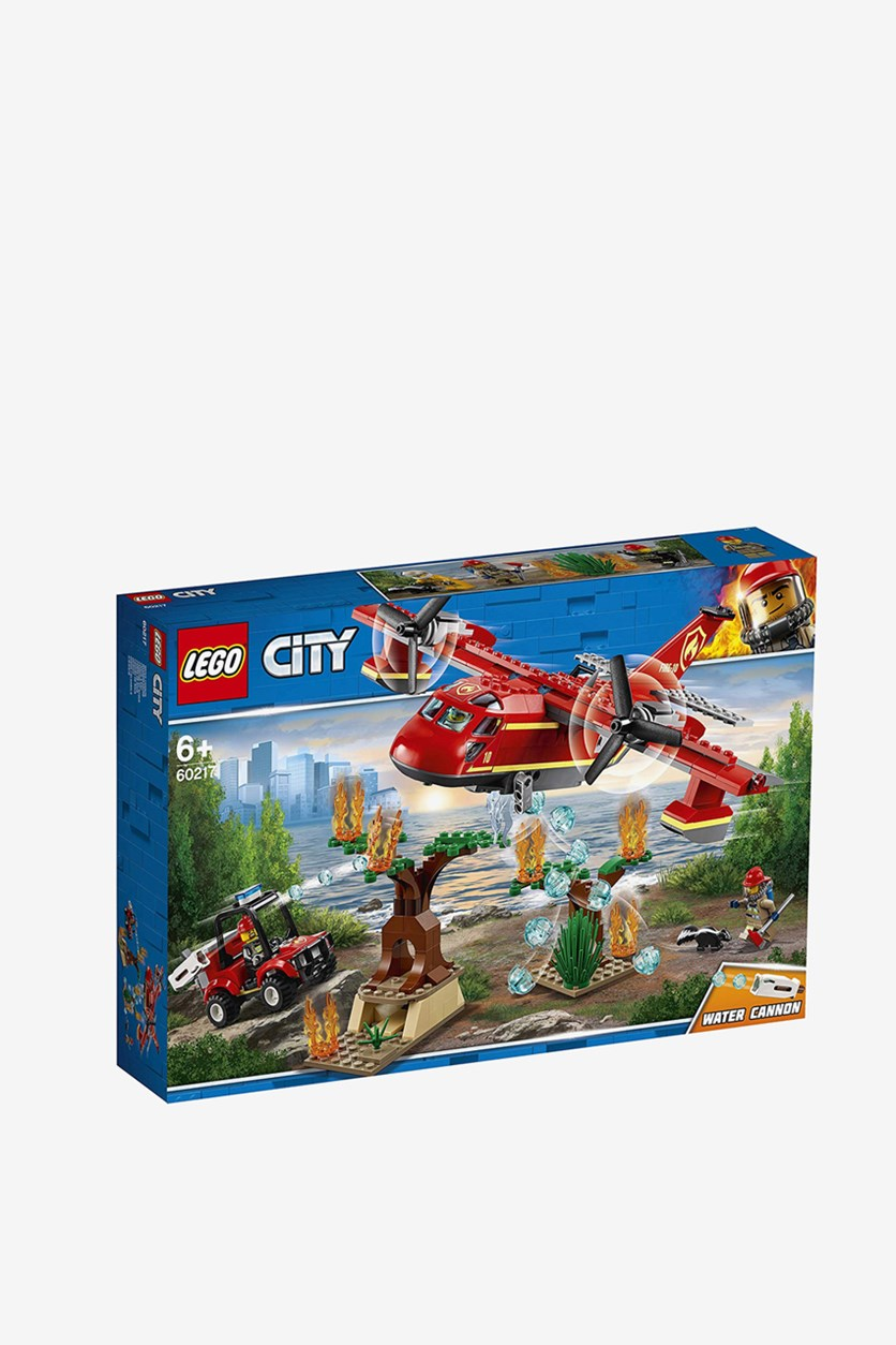Fire Plane Building Set, Red Combo
