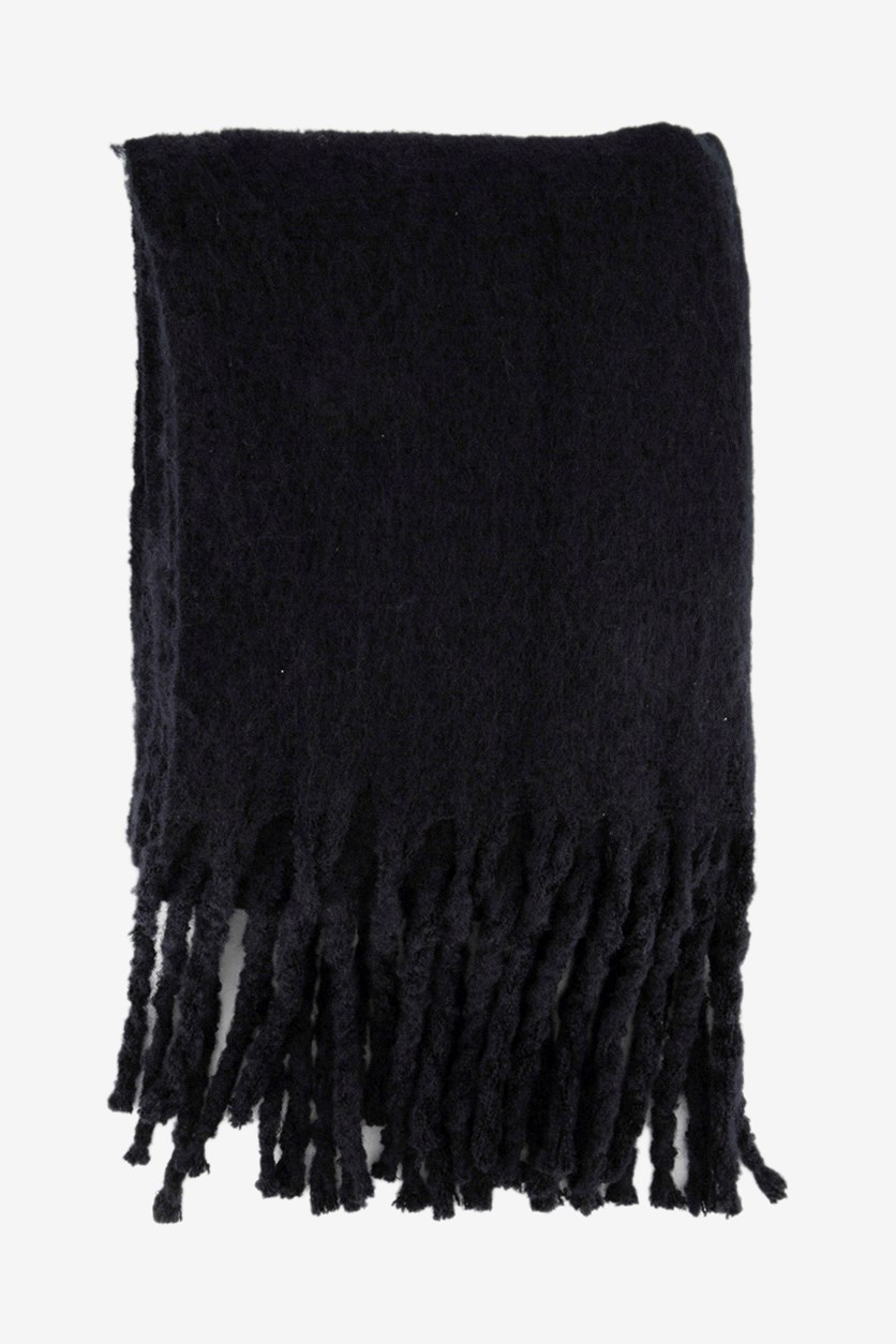 Womens scarves, Black