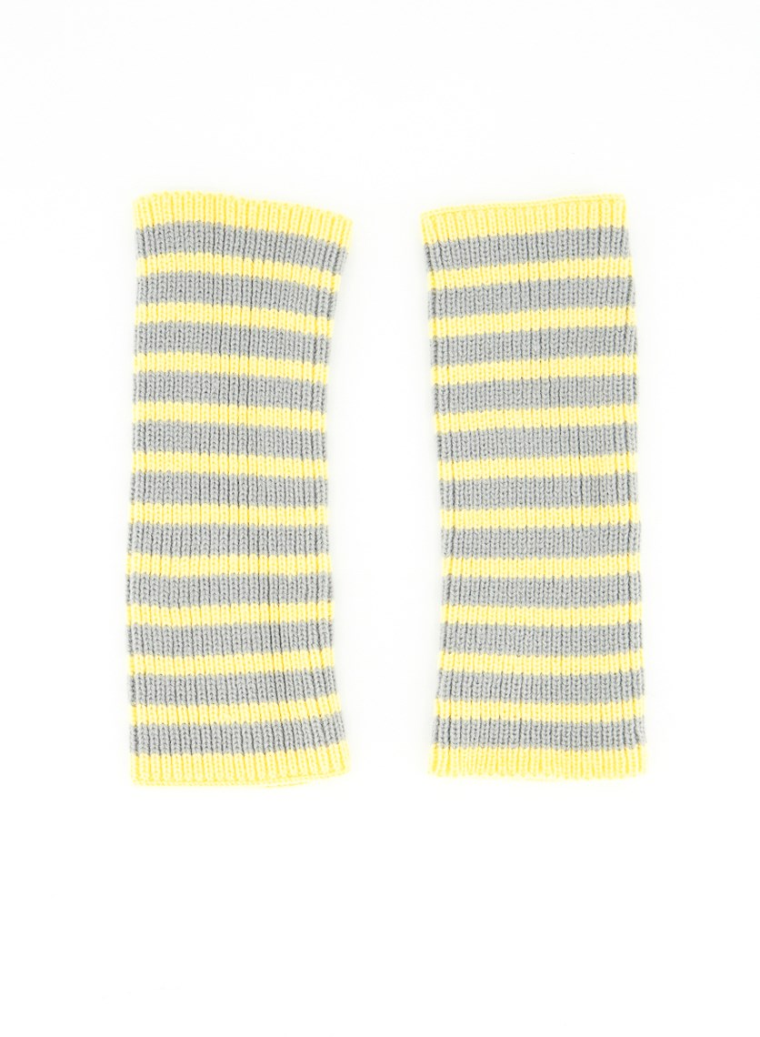 Womens Hands Accessories, Yellow/Grey
