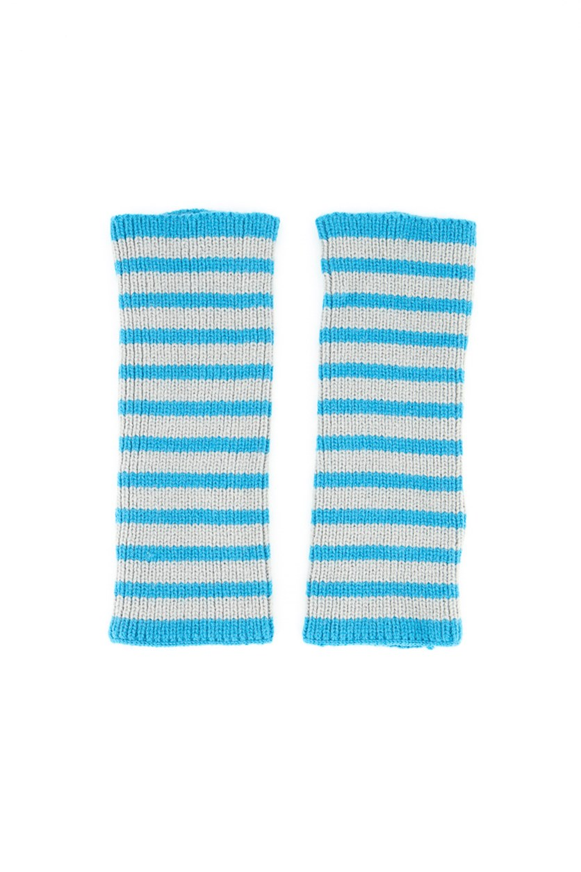 Womens Hands Accessories, Blue/Grey
