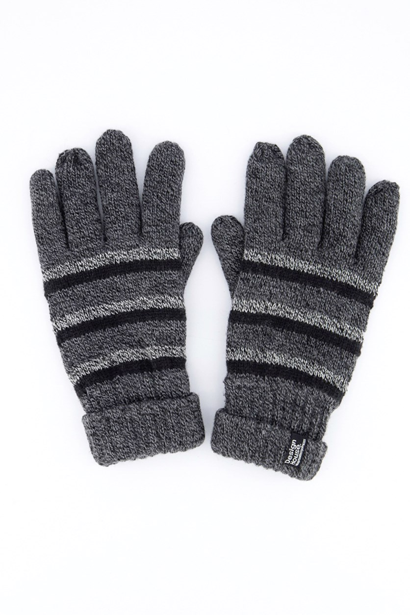 Men's Accessories Gloves, Black/Gray