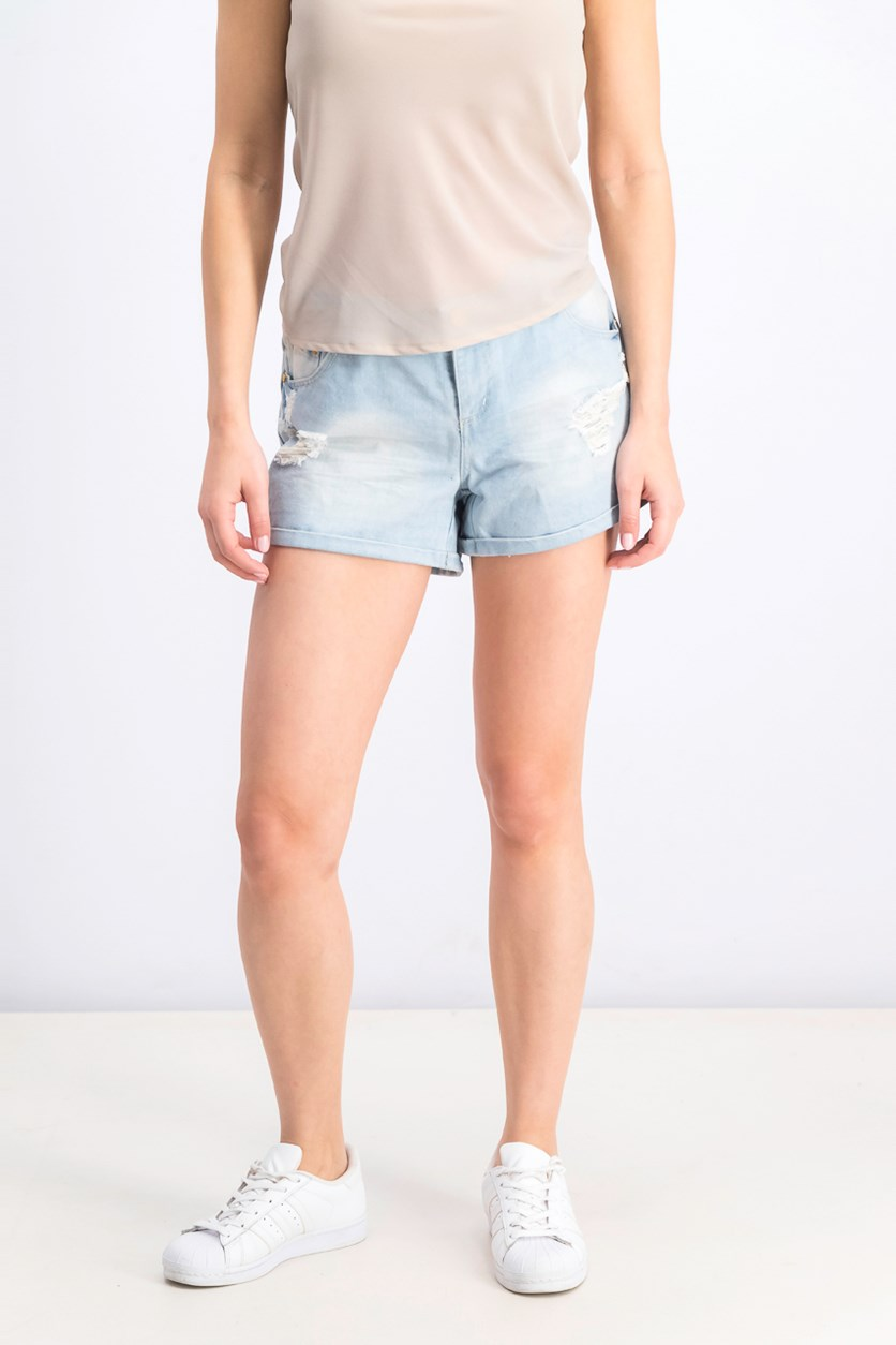Women's Rip Short, Blue Wash