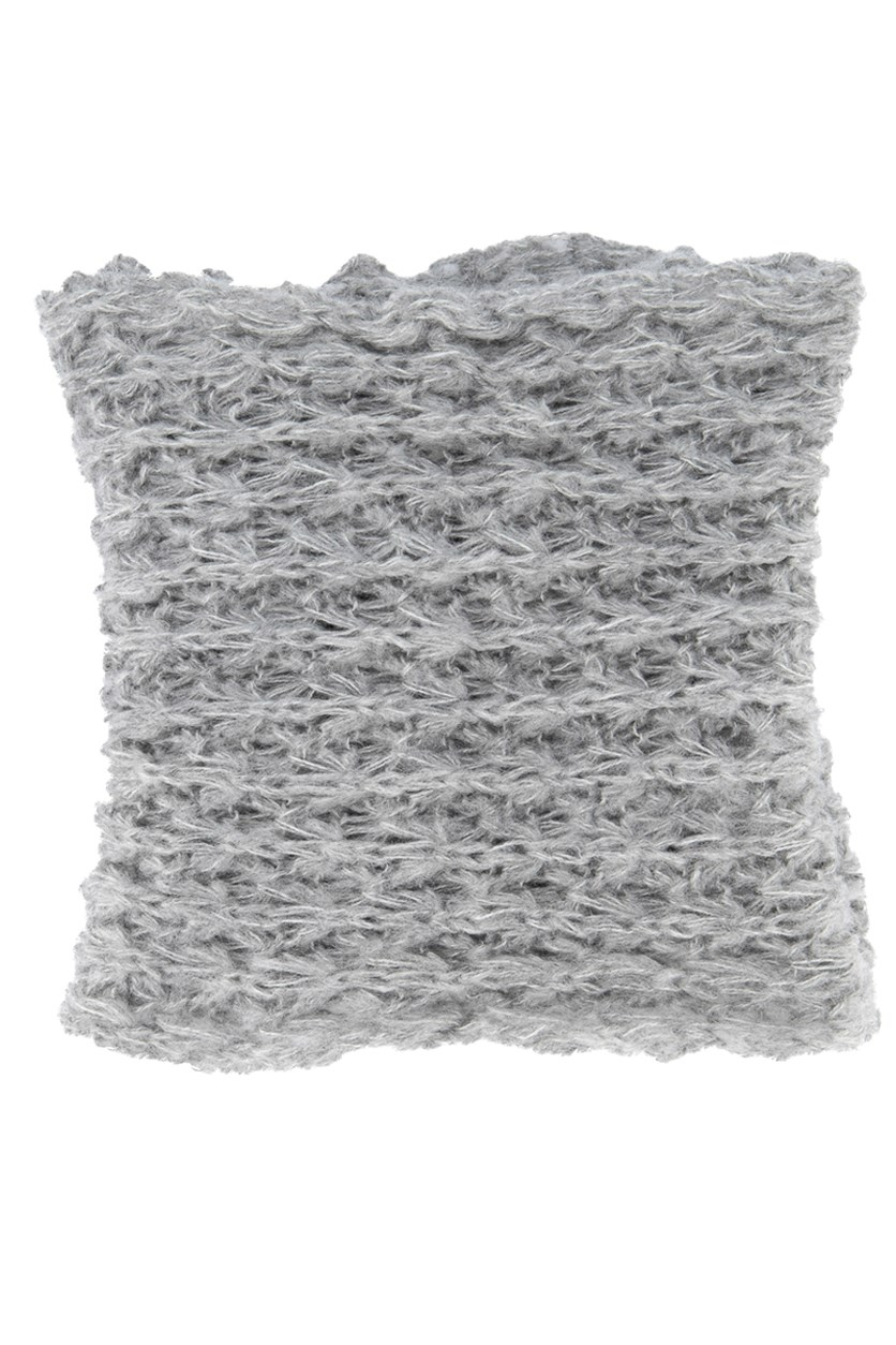 Women's Knitted Scarves, Grey