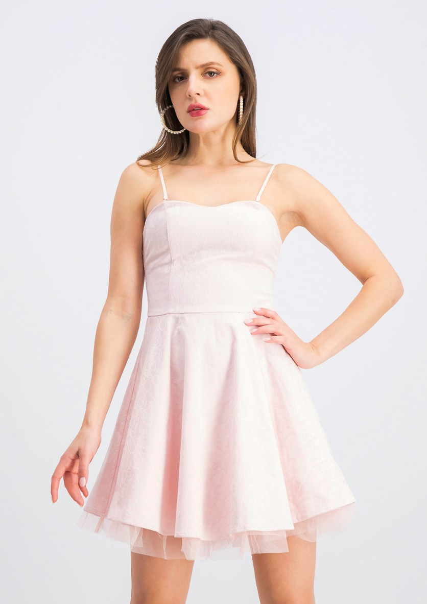 Women's Sleeveless Dress, Pink