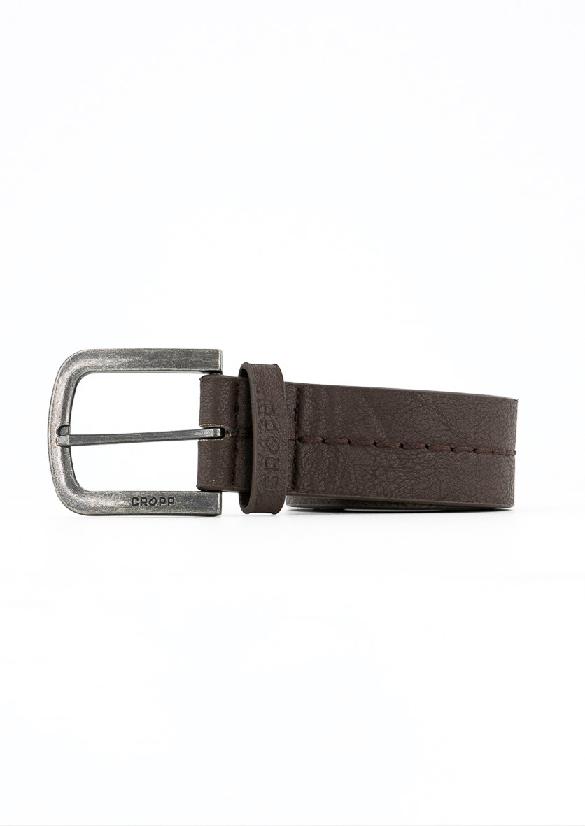 Men's Belt, Dark Brown