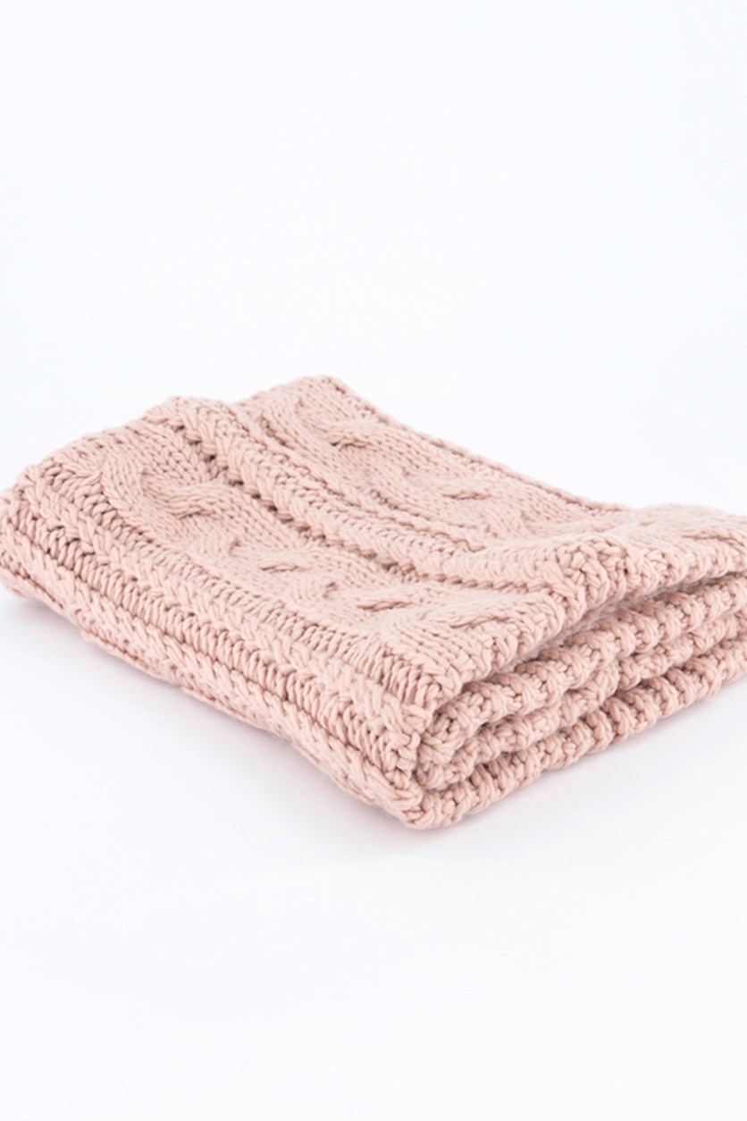 Women's Ribbed Snood, Pink