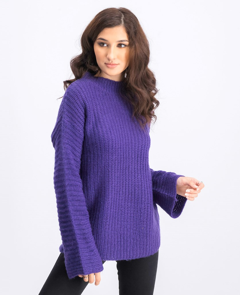 Women's Pullover Sweater, Purple