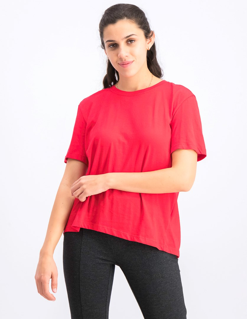 Women's Open Back Top, Red