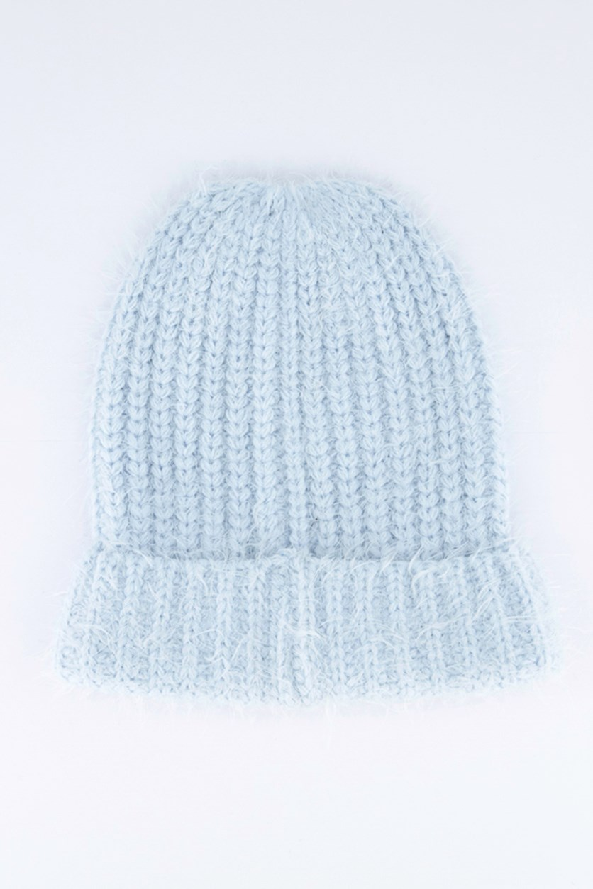 Ladies Textured Hats, Sky Blue