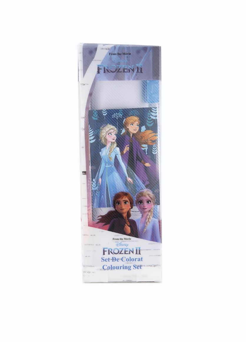 Frozen 2 Stationery Colouring Set, White/Blue Combo