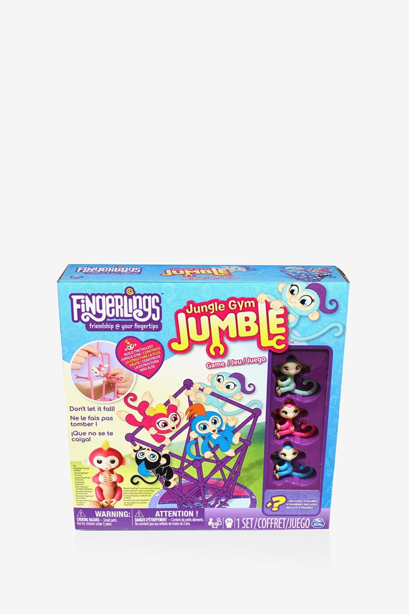 Fingerlings Jungle Gym Jumble Game, Blue