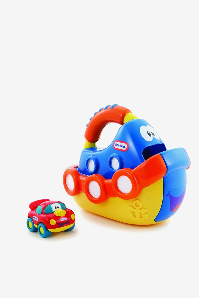 Little Tikes Handle Haulers Anchor And Speedy, Blue/Orange/Yellow/Red