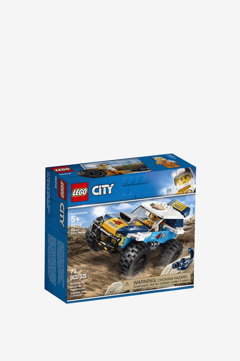 City Great Vehicles Desert Rally Racer Building Set, Blue Combo