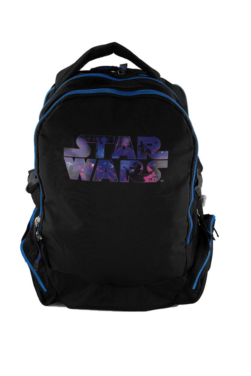 Star Wars Logo Backpack, Blue/Black