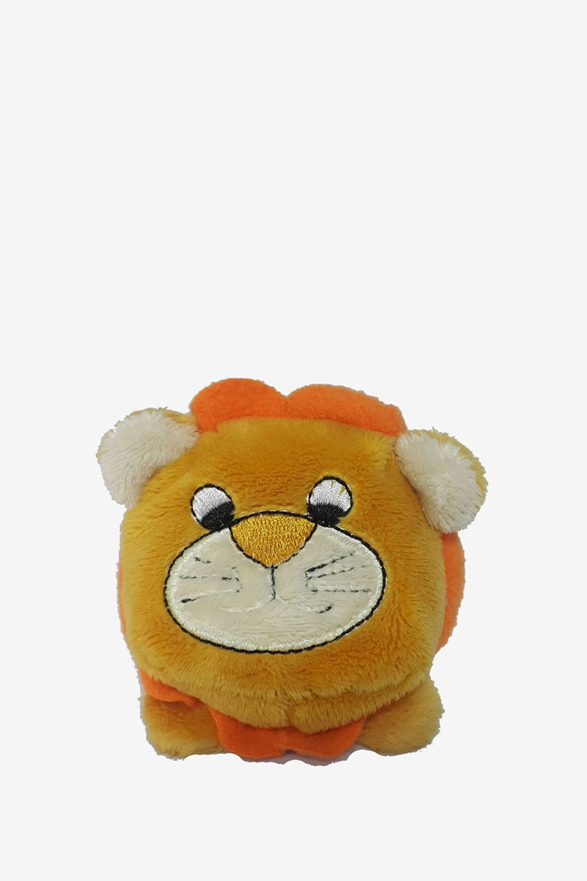 Lion Beanie Plush Toy, Orange