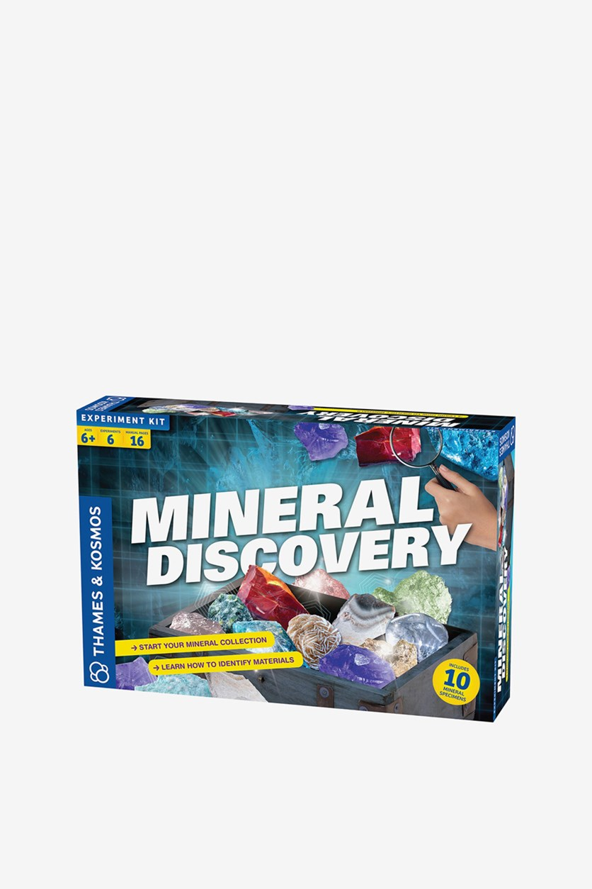 Educational Toy Mineral Discovery Science Kit, Blue